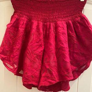 Free People gauze skirt (SKORT) size M